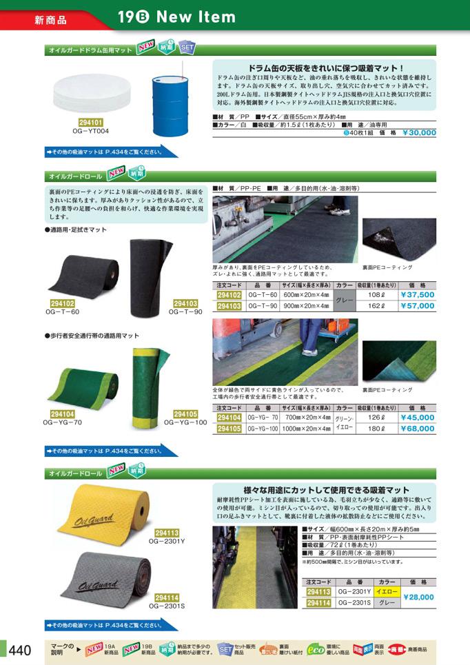安全用品カタログ P.440-新商品 New Item (1)/新商品 New Item (1)